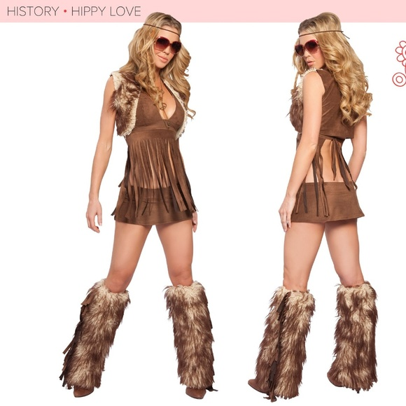 32ce756e3552 JValentine Other - Groovy Baby Sexy Hippie Boho Halloween Costume S